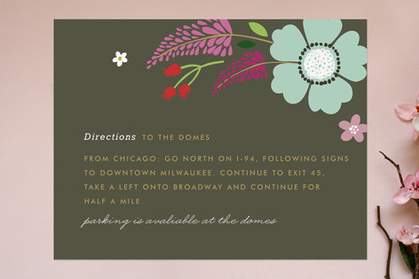 Ladybug Garden Direction Cards