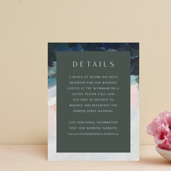 """""""Evelyn"""" - Direction Cards in Capri by Nicole Walsh."""