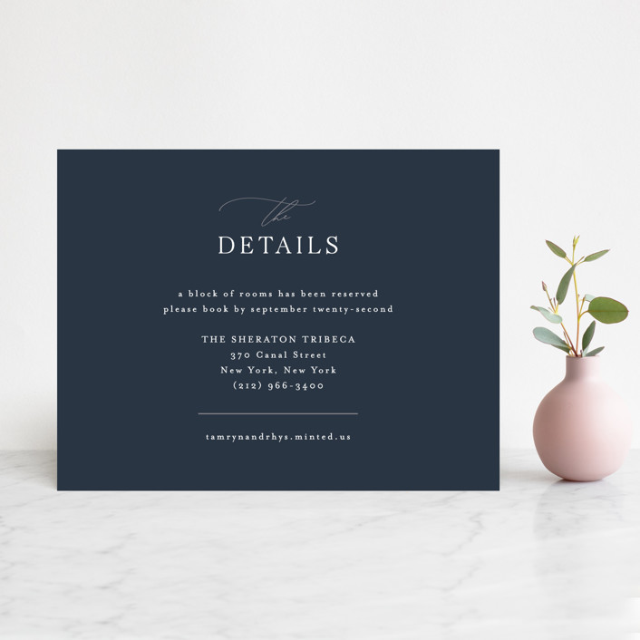 """""""Waltz"""" - Direction Cards in Nightfall by Jula Paper Co.."""