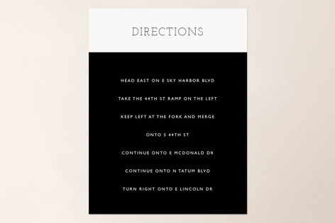 Hip To Be Square Direction Cards