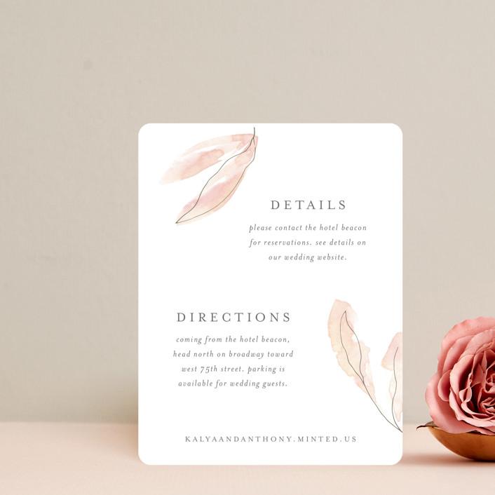 """Autumn Euphoria"" - Direction Cards in Autumn Kiss by Design Lotus."