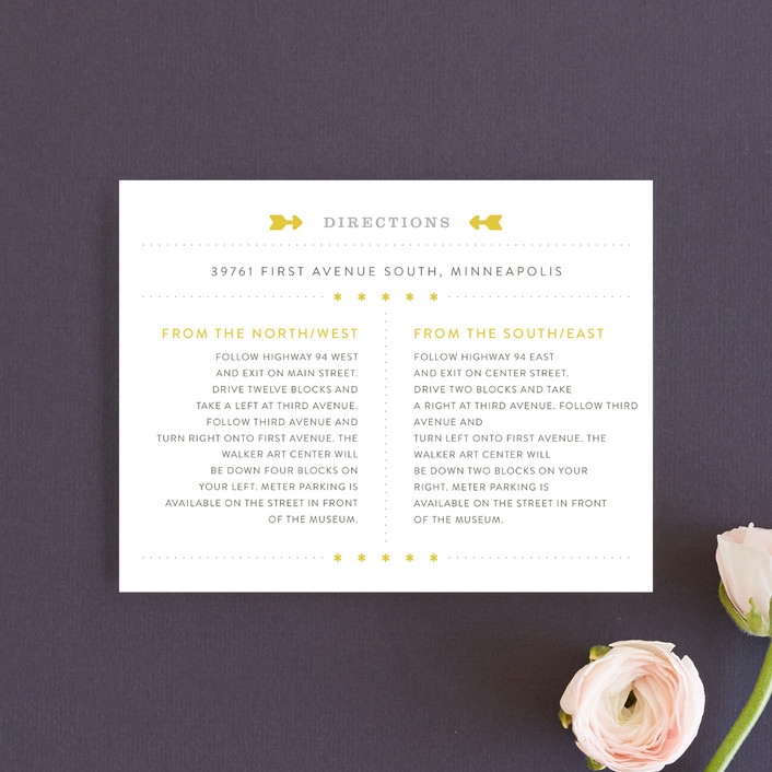 """""""Sunshine Day"""" - Destination, Modern Direction Cards in Mustard by Michelle Taylor."""
