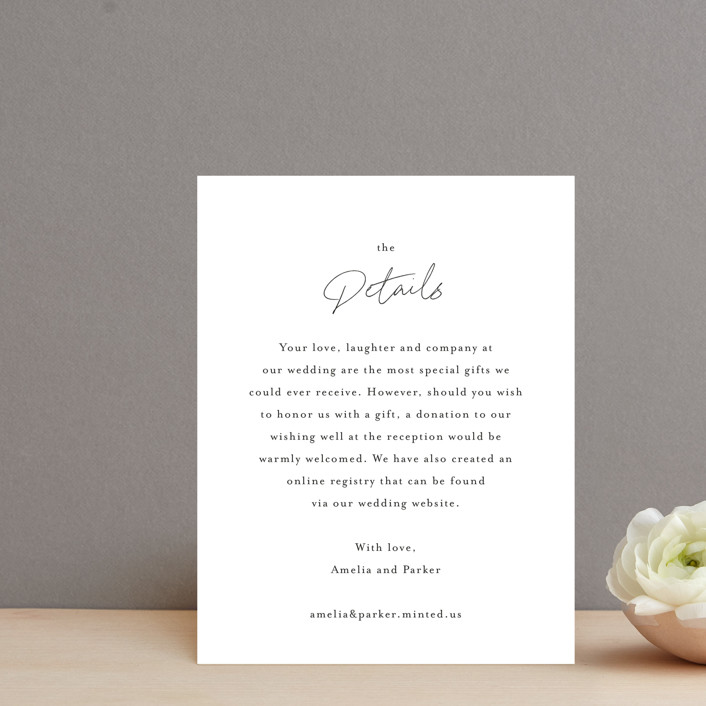 """""""Handwritten"""" - Direction Cards in Obsidian by Jennifer Postorino."""