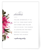 Peeking Florals Direction Cards