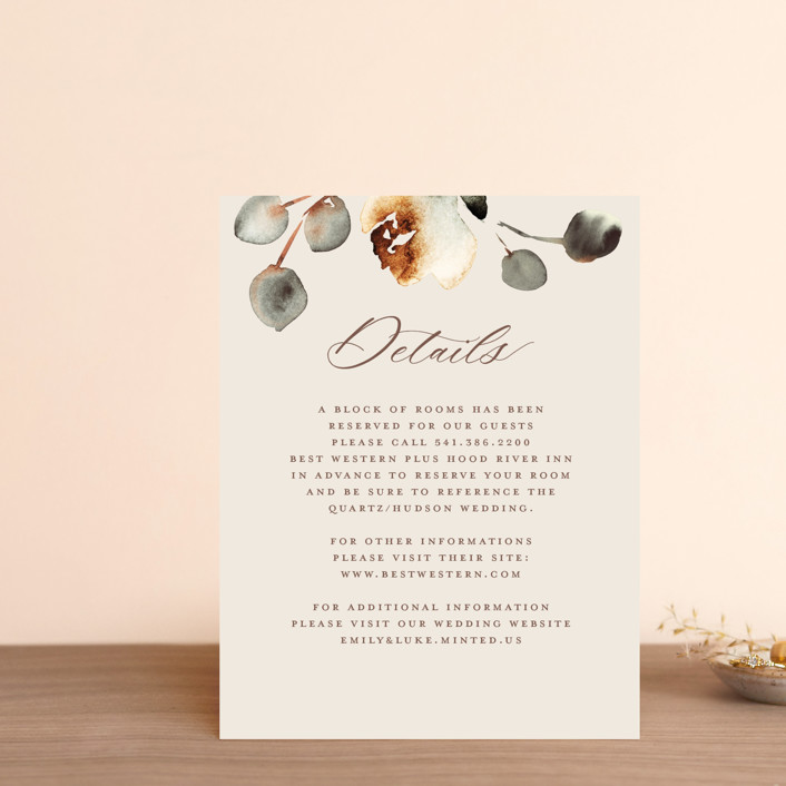 """Bella Mia"" - Direction Cards in Autumn by Petra Kern."