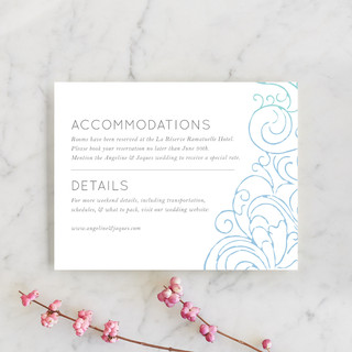 Ocean Flourish Direction Cards