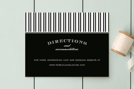 Soiree Direction Cards