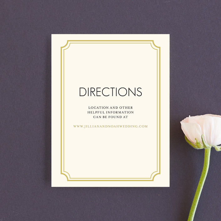 """""""Modern Classic"""" - Modern Direction Cards in Golden Bear by annie clark."""