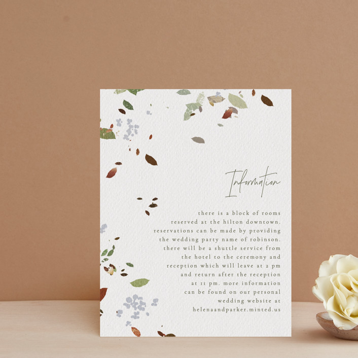 """""""Fall Flurry"""" - Bohemian Direction Cards in Fall by Grace Kreinbrink."""