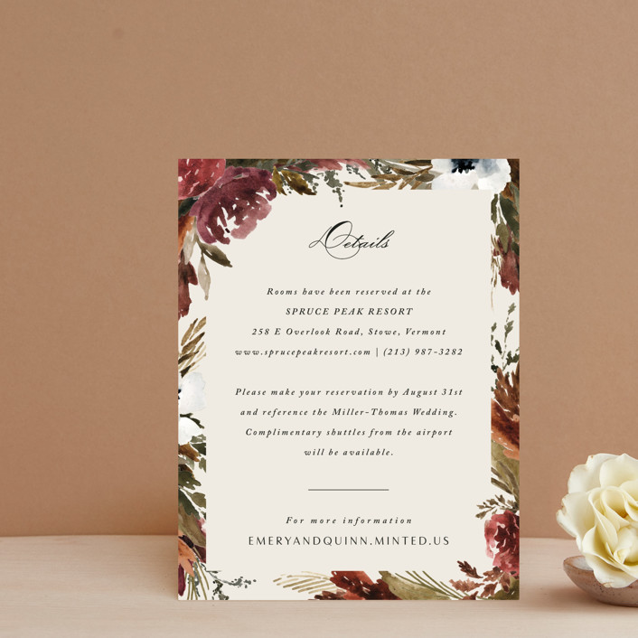 """""""poetique"""" - Direction Cards in Autumn by Kate Ahn."""
