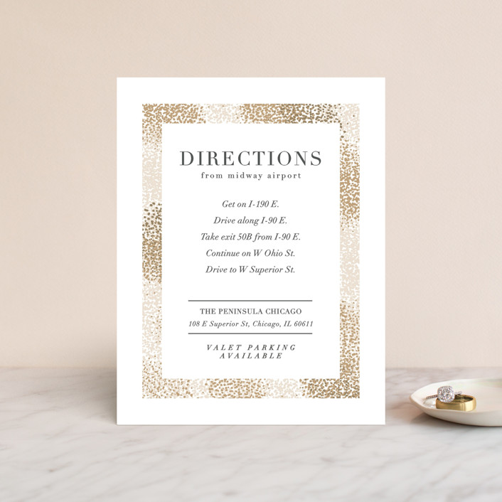 """""""Organic Dots"""" - Bohemian Direction Cards in Champagne by lena barakat."""