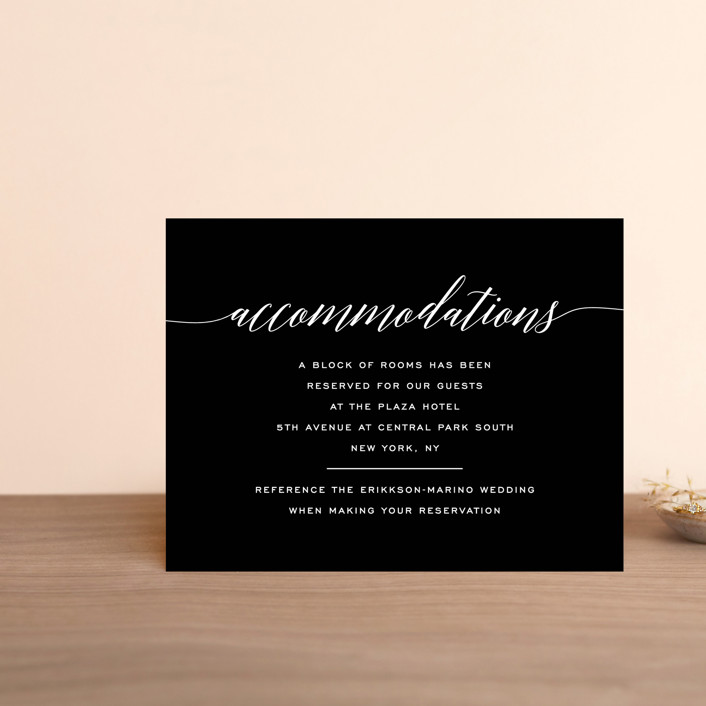 """Someone Like You"" - Direction Cards in Tuxedo by Design Lotus."