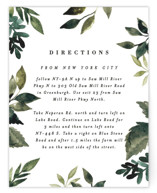 This is a green enclosure card by Alethea and Ruth called Clearing with standard printing on signature in standard.