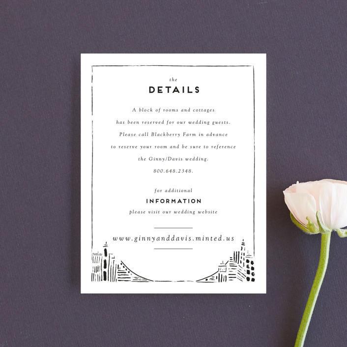 """Love In The City"" - Modern Direction Cards in Pearl by Shiny Penny Studio."