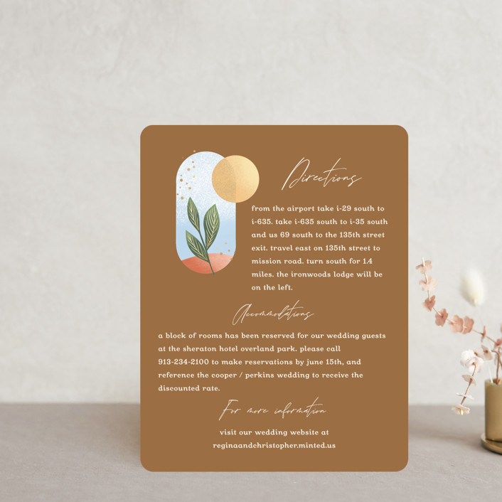"""""""Essence"""" - Modern Direction Cards in Ivory by Laura Bolter."""