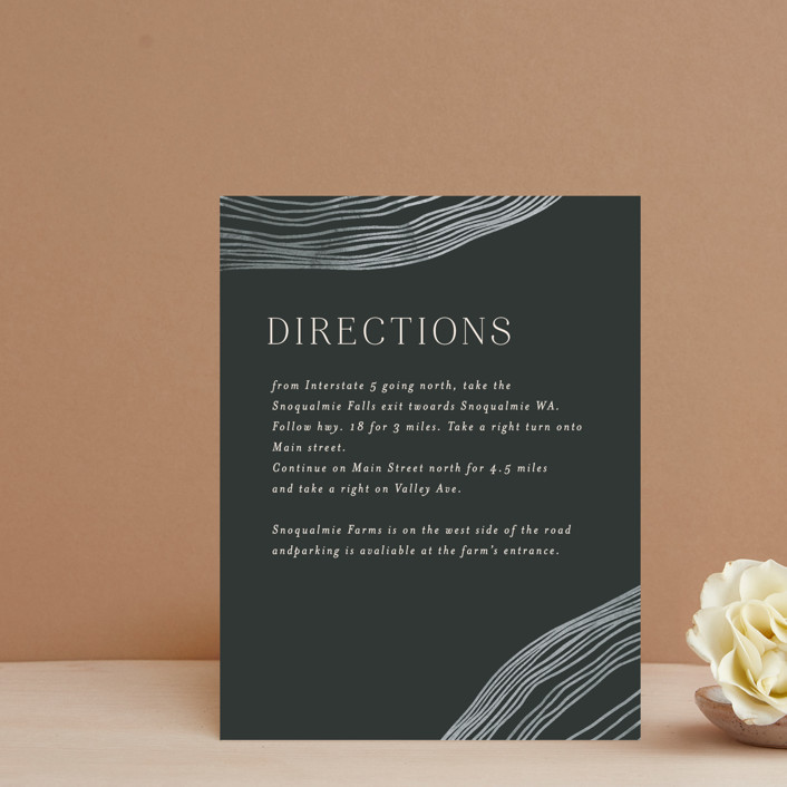 """""""Rings"""" - Modern Direction Cards in Natural by Alethea and Ruth."""