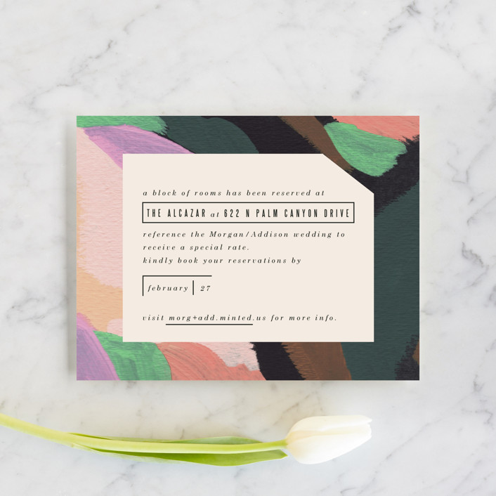 """Adagio"" - Direction Cards in Lilac by Moglea."