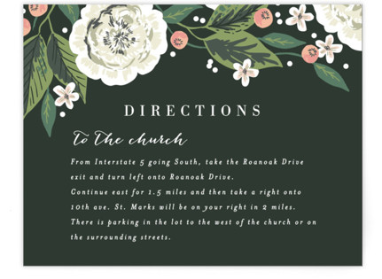 Climbing Rose Directions Cards