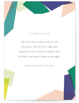 Gemstones Directions Cards