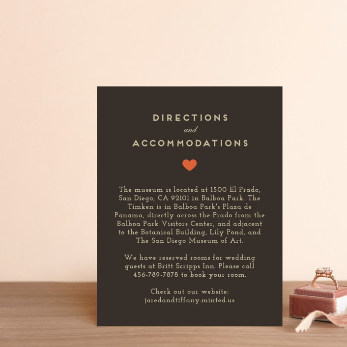 """Until Death"" - Direction Cards in Golden by Katie Zimpel."