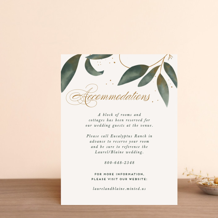 """""""Love Grows"""" - Direction Cards in Leaf by Leah Bisch."""