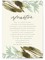 This is a green enclosure card by Grace Kreinbrink called Gardens Edge with standard printing on signature in standard.