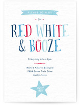 Red White & Booze Fourth of July