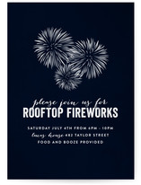 Rooftop Fireworks
