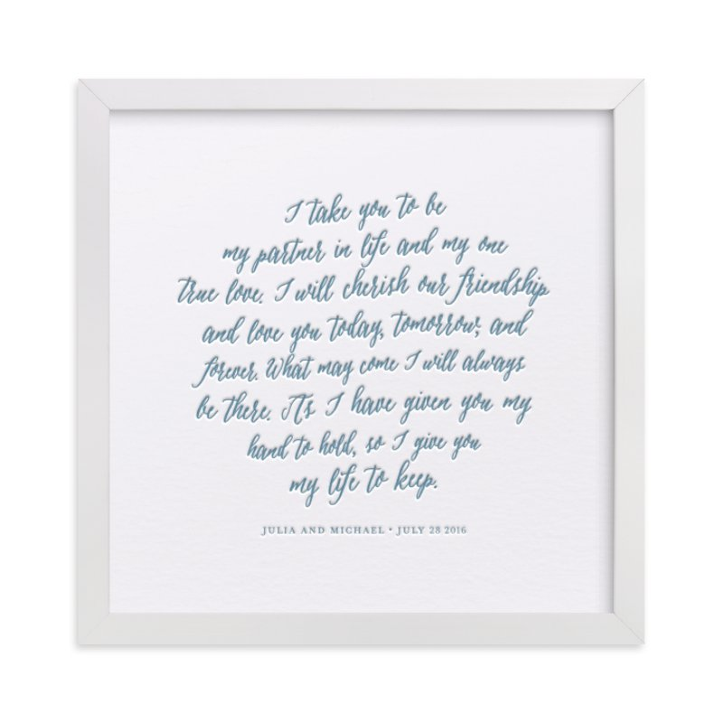 Wedding Vows Art image