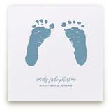 Custom Footprints Letterpress Art