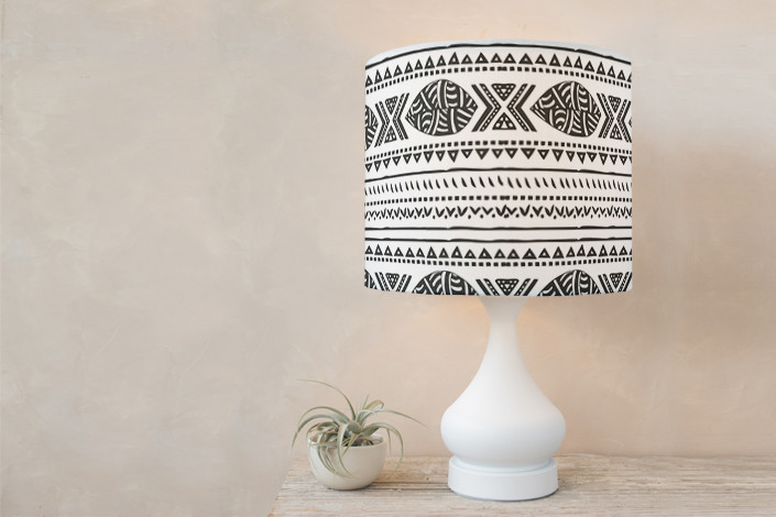 African tribal forest drum lampshade by oma n ramkhelawan minted more views smoke lampshade aloadofball Choice Image