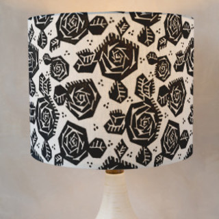 Tribal Rose Drum Lampshades