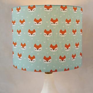 Little Fox Drum Lampshades