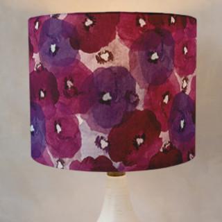 Fantastic Florals Drum Lampshades