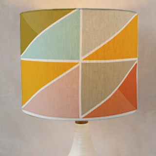 Triangle Picnic Drum Lampshades