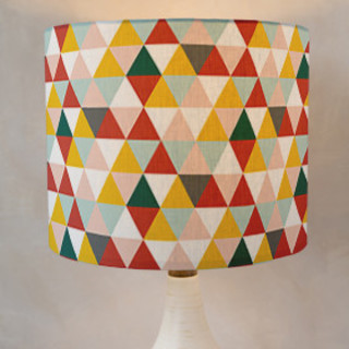 Seven Triangles Drum Lampshades