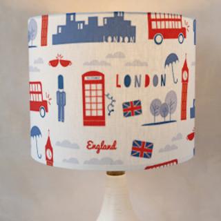 London Calling Drum Lampshades