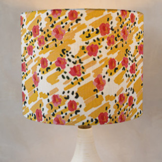 Morning Glow. Drum Lampshades