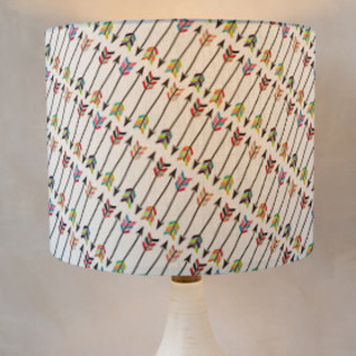 Tribal Arrows Drum Lampshades