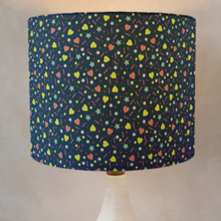 Teen Star Drum Lampshades