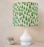 wood for the trees Drum Lampshades