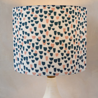 Over The Hills Drum Lampshades