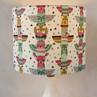 Tribal Animalis Drum Lampshades