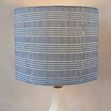 Contemporary Stripe Drum Lampshades