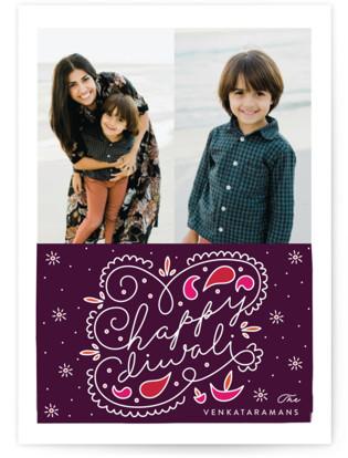 fun rangoli Diwali Petite Cards