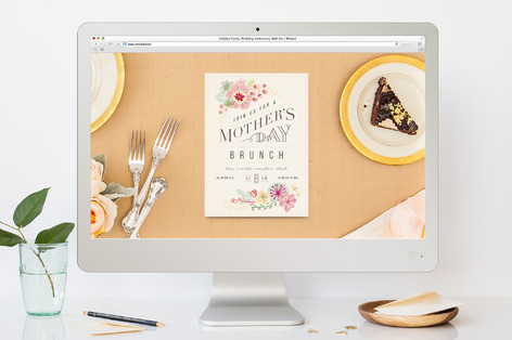 Brunch for Mom Mother's Day Online Invitations