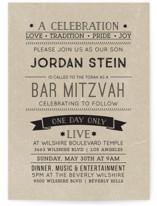 Live Bar Mitzvah