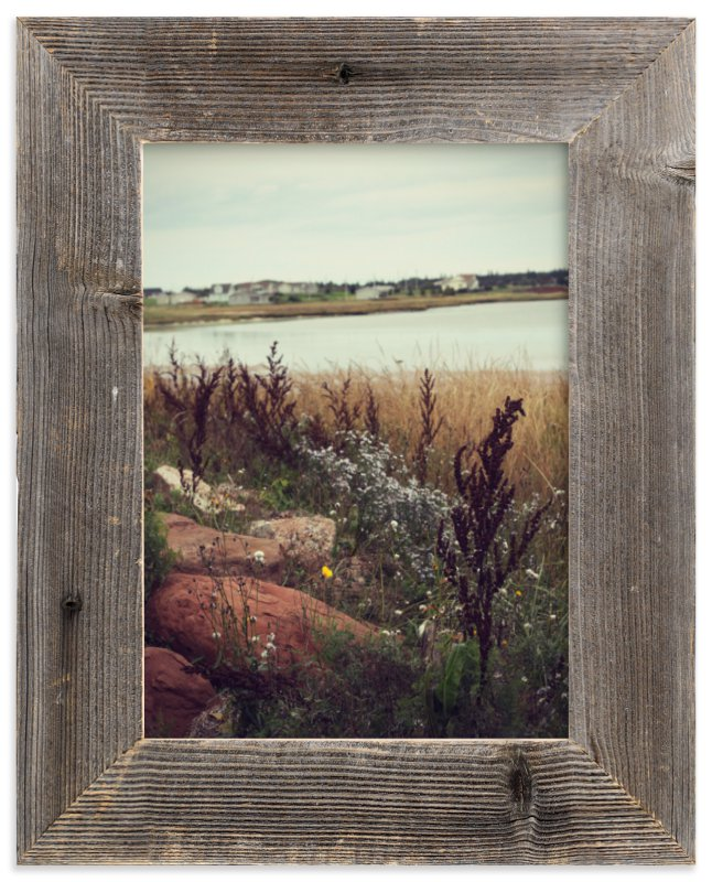 """Brackley Beach"" - Limited Edition Art Print by Gray Star Design in beautiful frame options and a variety of sizes."