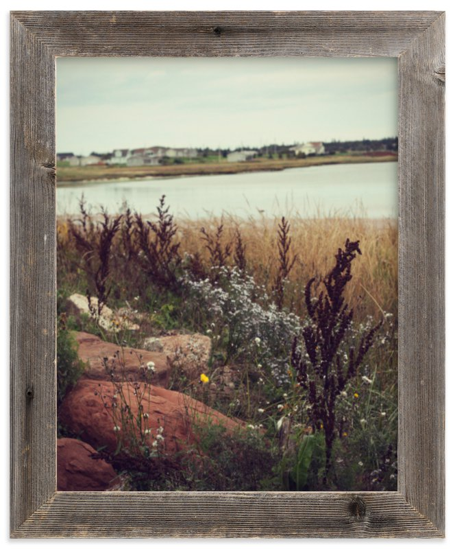 """""""Brackley Beach"""" - Limited Edition Art Print by Gray Star Design in beautiful frame options and a variety of sizes."""