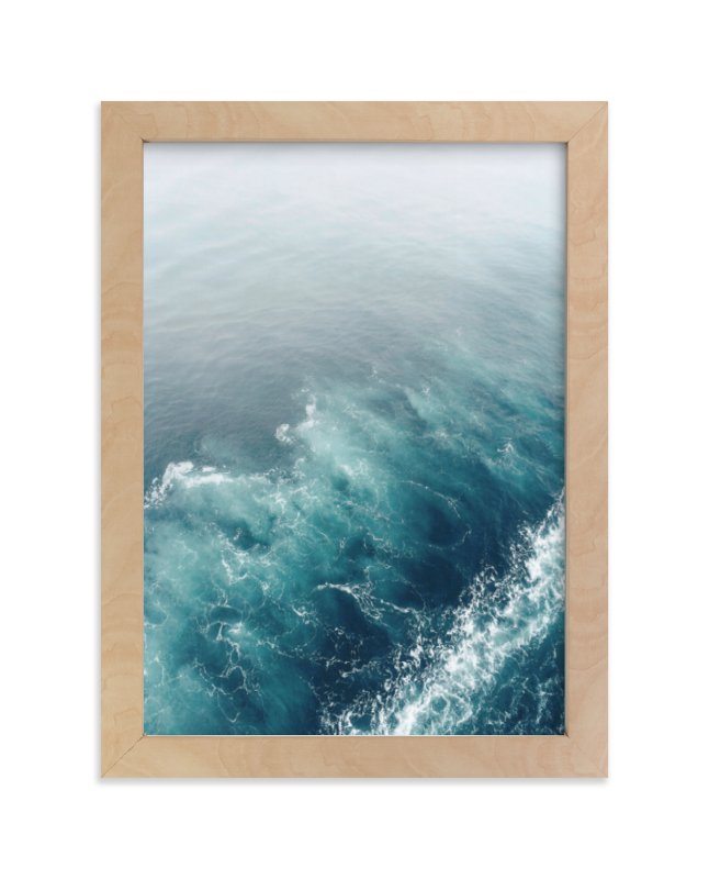 """Marbled Wake"" - Limited Edition Art Print by SylvieCeres Designs in beautiful frame options and a variety of sizes."